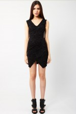 TFNC Saba Black Bodycon Dress
