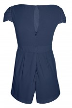 TFNC Hadie Navy Playsuit