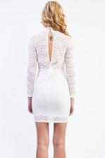TFNC Rosalie White Bodycon Dress
