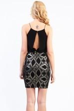 TFNC Kirsty Black Dress