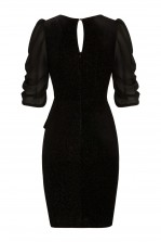 TFNC Tamia Black Midi Dress