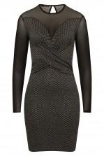 TFNC Martina Silver Mini Dress