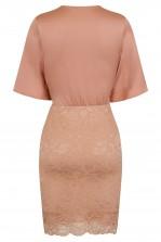 TFNC Dounia Pink Midi Dress