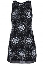 TFNC Daisy Black Embellished Dress