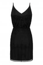 Lace & Beads Keeva Black Mini Dress