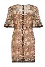 TFNC Casey Black Floral Dress