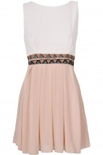 TFNC Dacey Embellished Cut Out Dress