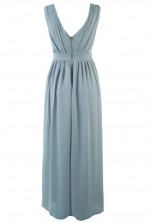 TFNC Debby Light Blue Maxi Dress