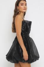 TFNC Graziella Black Mini Dress