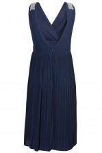 TFNC Monia Navy Midi Dress