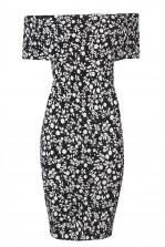 TFNC Rika Black Dress