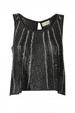 Lace & Beads livia Black Top