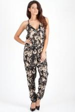 TFNC Salina Floral Print Jumpsuit