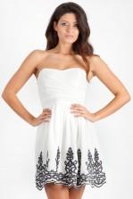 TFNC Lila Bandeau Prom Dress