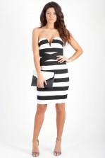 TFNC Cassidy Bodycon Bandeau Dress