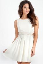 TFNC Malaga Embellished Cut Out Dress