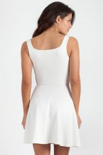 TFNC Mona Sweetheart Skater Dress