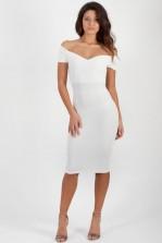 TFNC Jane Off Shoulder Midi Dress