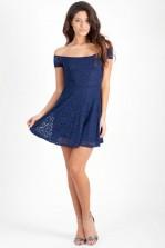 TFNC Dorothy Off Shoulder Lace Dress