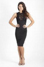 TFNC Divine Lace Midi Dress