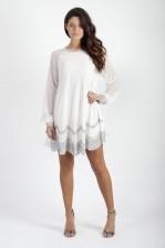 TFNC Brenda Embellished Swing Dress