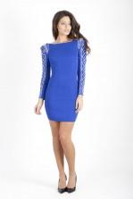 TFNC Dionne Embellished Sleeve Dress