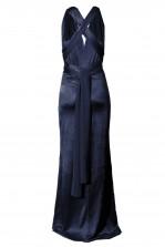 TFNC Multi Way Navy Sheen Maxi Dress