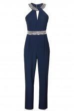 TFNC Aziza Navy Jumpsuit