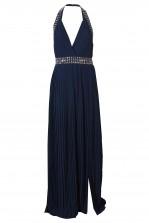 TFNC Chello Navy Maxi Embellished Dress
