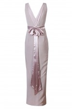 TFNC Alexandra Grey Maxi Dress