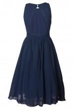 TFNC Ambre Embellished Navy Midi Dress