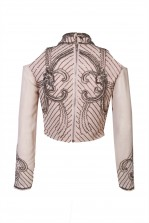 Lace & Beads Tammy Pink Top