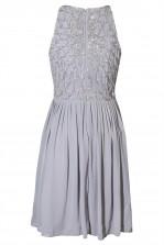 Lace & Beads Abliene Grey Dress