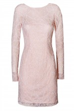 Lace & Beads Jaylin Pink Embellished Dress