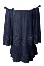 TFNC Cloudy Navy Dress