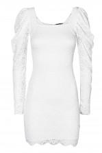 TFNC Lissa White Dress