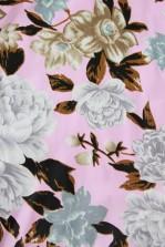 TFNC Geri Pink Floral Bandeau Dress