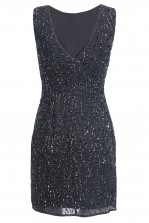 Lace & Beads Dorothy Navy Embellished Dress