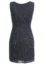 Lace & Beads Dorothy Navy Embellished Dress