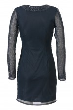 Lace & Beads Lanta Navy Embellished Dress