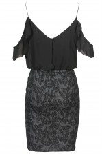 TFNC Ellya Black Cami Dress