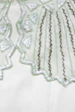 Lace & Beads Jodie Mint Playsuit