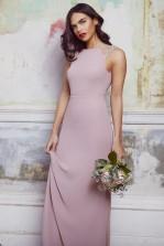 TFNC Riva Pale Mauve Maxi Embellished Dress