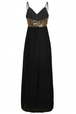 TFNC Vedette Black Maxi Dress
