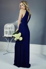 TFNC Janice Nude Maxi Dress