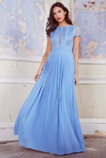TFNC Kimora Blue Bell Maxi Dress