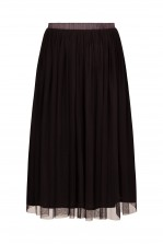 Lace & Beads Val Charcoal Skirt