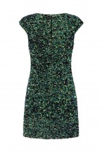 Lace & Beads Spica Green Sequin Dress