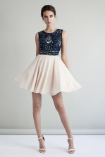 Lace & Beads Miami Navy Dress