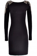 TFNC Selfie Embellished Bodycon Dress